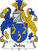 English Coat of Arms for Oxley