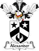 Coat of Arms from Scotland for Alexander