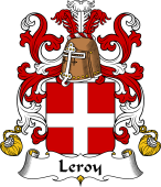 Coat of Arms from France for Leroy (Roy le) II