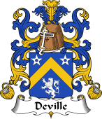 Coat of Arms from France for Deville