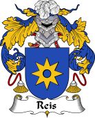 Portuguese Coat of Arms for Reis