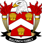 American Coat of Arms for Bulfinch