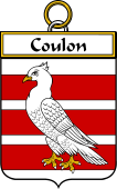 French Coat of Arms Badge for Coulon
