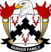 American Coat of Arms for Parker