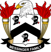 American Coat of Arms for Messinger