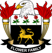 American Coat of Arms for Flower
