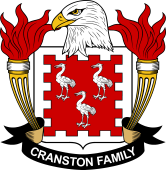 American Coat of Arms for Cranston