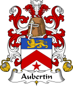 Coat of Arms from France for Aubertin