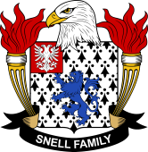 American Coat of Arms for Snell