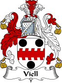 English Coat of Arms for Viell