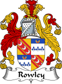 Irish Coat of Arms for Rowley or Rolan