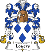 Coat of Arms from France for Loyers