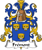 Coat of Arms from France for Frémont
