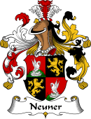 German Wappen Coat of Arms for Neuner