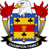 American Coat of Arms for Champion