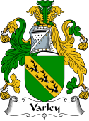 English Coat of Arms for Varley