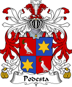 Italian Coat of Arms for Podesta