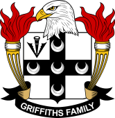 American Coat of Arms for Griffiths
