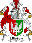 English Coat of Arms for Elliston