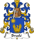 Coat of Arms from France for Bruslé or Brulé