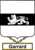 English Coat of Arms Shield Badge for Garrard