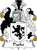 English Coat of Arms for Paske