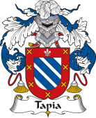 Spanish Coat of Arms for Tapia