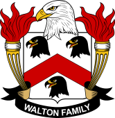 American Coat of Arms for Walton