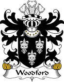 Welsh Coat of Arms for Woodford (of Castell Pigyn, Carmenthenshire)