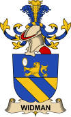 Republic of Austria Coat of Arms for Widman