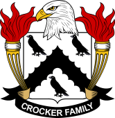 American Coat of Arms for Crocker