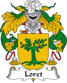 Spanish Coat of Arms for Loret