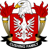 American Coat of Arms for Cushing