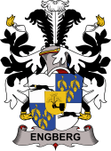 Danish Coat of Arms for Engberg