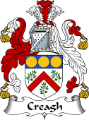 Irish Coat of Arms for Creagh