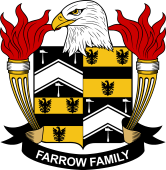 American Coat of Arms for Farrow