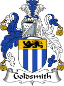 English Coat of Arms for Goldsmith