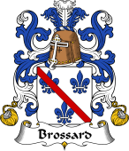 Coat of Arms from France for Brossard