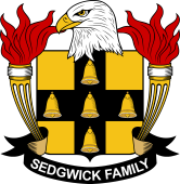 American Coat of Arms for Sedgwick