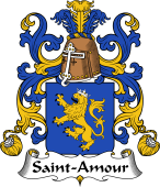 Coat of Arms from France for Saint-Amour