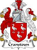 Scottish Coat of Arms for Cranstoun