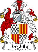 English Coat of Arms for Knightly or Knightley