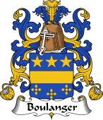 Coat of Arms from France for Boulanger