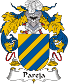 Spanish Coat of Arms for Pareja