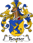 German Wappen Coat of Arms for Reutter
