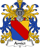 Italian Coat of Arms for Amici