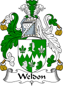 Irish Coat of Arms for Weldon