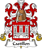 Coat of Arms from France for Castillon