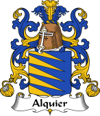 Coat of Arms from France for Alquier