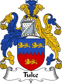 English Coat of Arms for Tuke